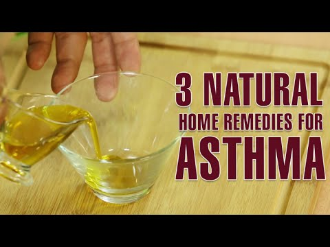 How To Cure Asthma Attacks Permanently At Home|3 Best Natural Home Remedies For ASTHMA TREATMENT