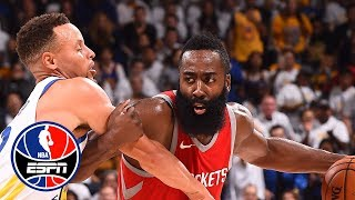 The Rockets are the only threat to the Warriors | NBA Countdown | ESPN