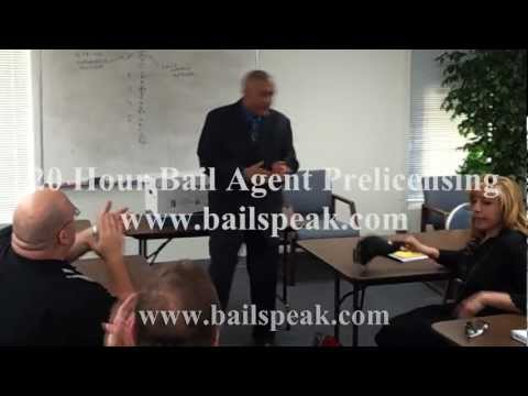 20 Hour Bail Agent Prelicensing Bondsman and Bounty Hunter Certification