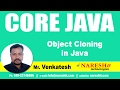 Object Cloning in Java with Example Program | Core Java Tutorial