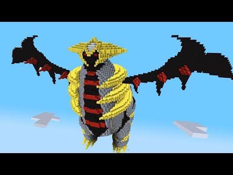 Minecraft vs Pokemon go   GIGA GIRATINA!!   (Tower of Terror)