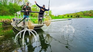 ELECTROFISHING My Pond!!! (SURPRISING FIND!)