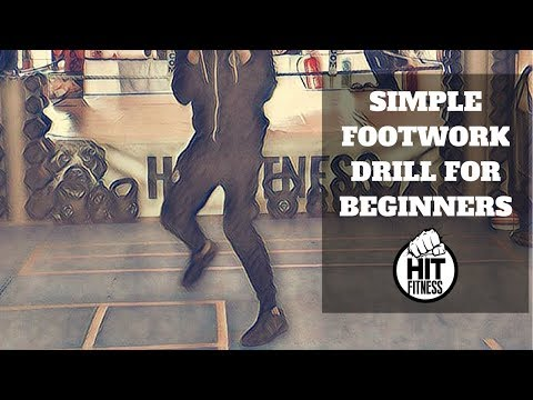 Simple Boxing Footwork Drill for Beginners