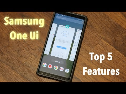 Samsung One Ui on Galaxy Note 9 - My Top 5 Features (Android Pie 9.0)