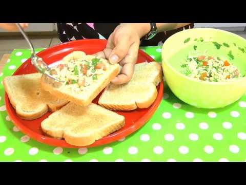 Chilli CheeseToast    Quick and Easy Breakfast Snacks