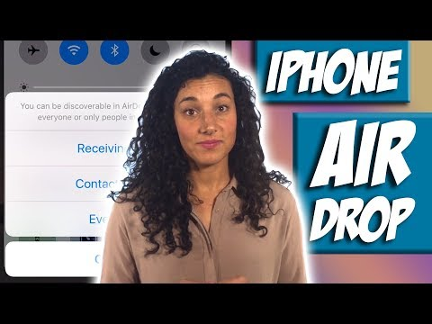 How to Use iPhone AirDrop