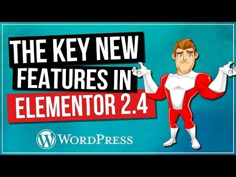 ELEMENTOR 2.4: Background & Border Customization   Template Categories