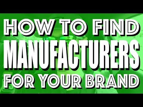 How To Find Manufacturers & Suppliers For Your Clothing Brand