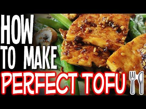 How To Make the Perfect Tofu (Easy Recipe!)