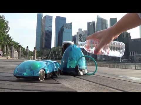 Carro de controle remoto usa água como combustivel