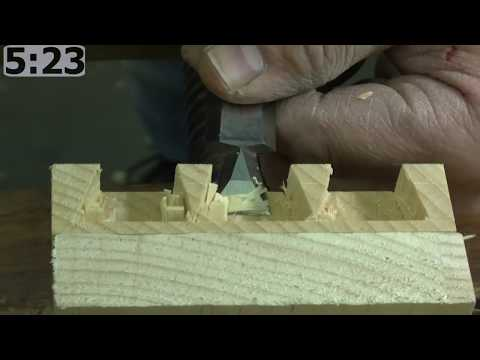 Rob Cosman's 6 1/2 Minute 1/2 Blind Dovetail
