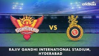 Cricbuzz LIVE: SRH vs RCB Pre-match show