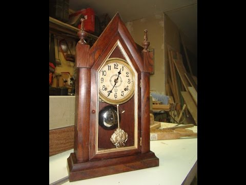 Wooden Clock  - How to Make from the beginning