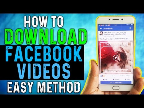 HOW to DOWNLOAD FACEBOOK VIDEOS without Any THIRD PARTY APP ? Video Explained in HINDI