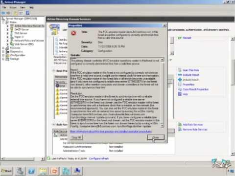 Windows Server 2008 R2 Quick Look#7 - Best Practices Analyzers