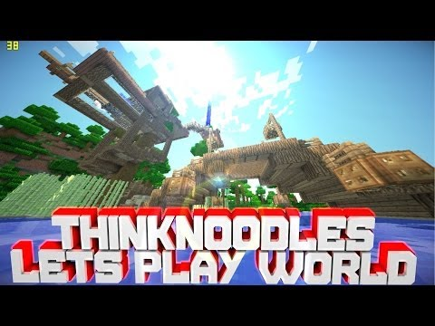 [0.8.1]Minecraft PE ThinkNoodles Lets Play World[DOWNLOAD]