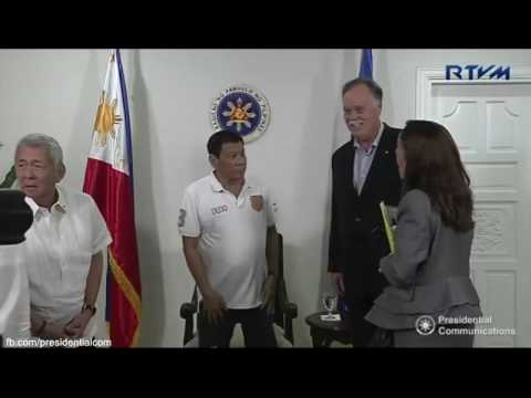 Farewell Call of H.E. Neil Reeder, Ambassador of Canada to the Philippines 8/20/2016