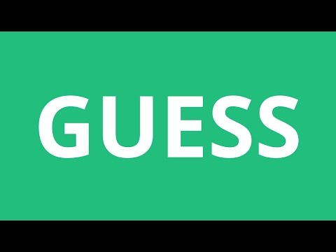 How To Pronounce Guess - Pronunciation Academy