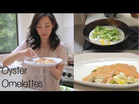 Taiwanese Oyster Omelette recipe | night market stye