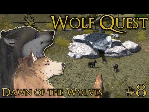 Birth of a Dawning Era of Wolf Pups!! 🐺 WOLF QUEST: DAWN OF THE WOLVES 🐺 Episode #8