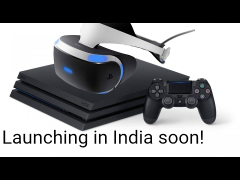 Sony Playstation 4 Pro & VR First Look   Digit.in