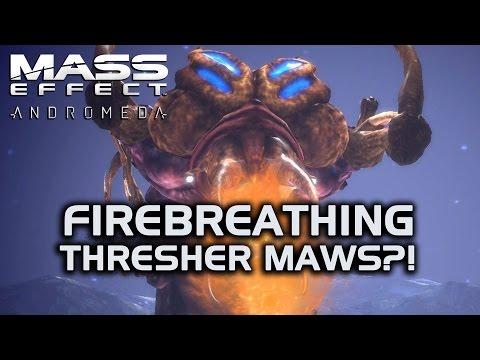 Mass Effect Andromeda - Firebreathing Thresher Maws of Doom?!
