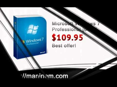 Buy cheap Microsoft Windows 7 Professional 64bit