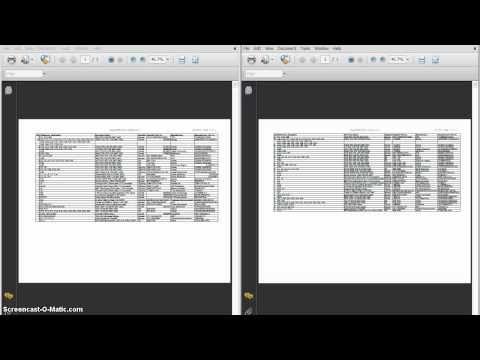 Compare Information in Excel (Compare BOM)