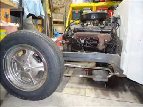 ROOKIE'S CHEVY RAT ROD PART 3 ON WHEELS
