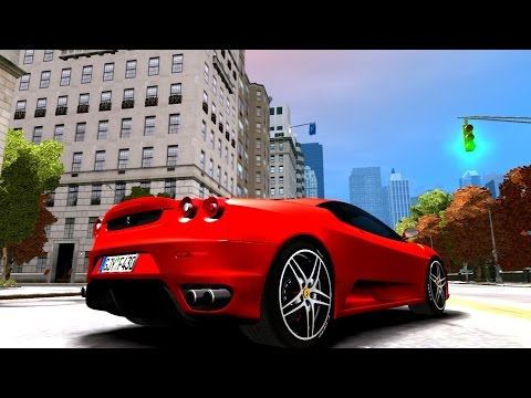 #454 2004 Ferrari F430 | New Cars / Vehicles in GTA IV [60 FPS]