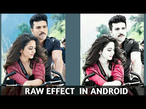 Raw Effect In Android || Part 1 || Rahul Creations