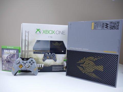 XBOX One Advanced Warfare Bundle UNBOXING