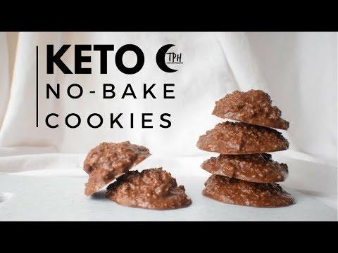 Keto No-Bake Cookies | Low-Carb 1-Bowl Dessert
