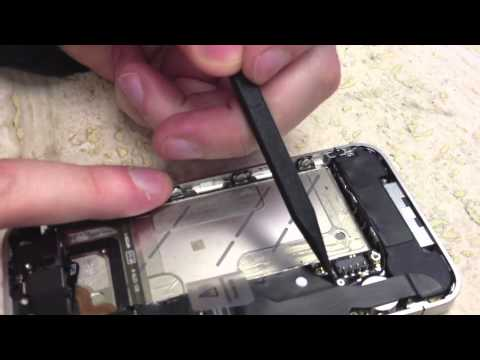 How to DIY replace a Sprint or Verizon iPhone 4 speaker assembly