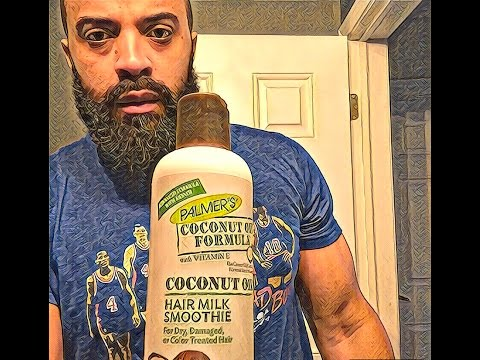 HOW TO CURE TIGHT NECK BEARD W/PALMERS HAIR SMOOTHIE | MORNING ROUTINE | SOFT BEARD SEASON | 1080p