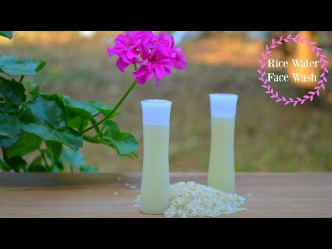 Foaming Rice Water Face Wash For Ageless Skin | Treats Acne, Pimples, Spots & Blackheads