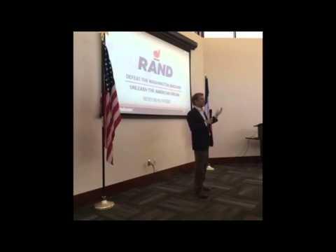FULL Rand Paul Speech in Iowa