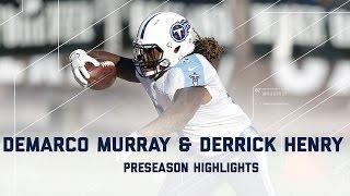 Derrick Henry Demarco Murray Highlights Titans Vs Raiders Nfl