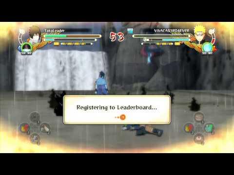 NARUTO STORM 3 | EMS Sasuke - #1「Online Ranked】HD