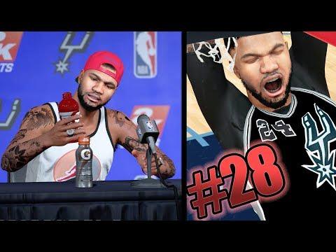 NBA 2k18 MyCAREER - Signed Max Contract with Jordan! New Career High + Self Lob! Ep. 28