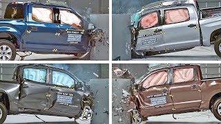 Crash Test 2020 Pickup Trucks – F150, Ram, Tundra, Titan...
