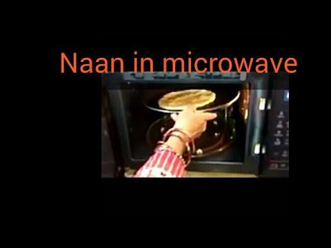 Naan in microwave