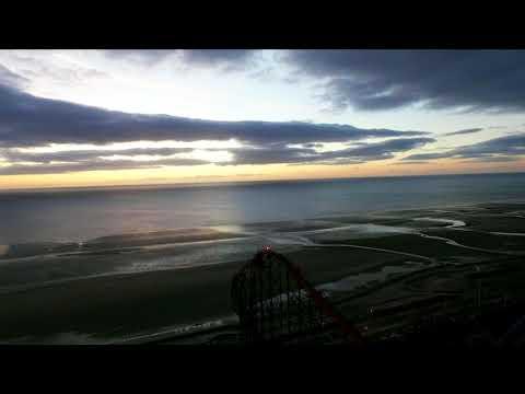 Blackpool Pleasure Beach by drone