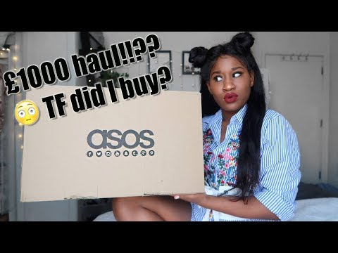 😱The truth about ASOS! 🙄£1000..WTF!! was it worth it?
