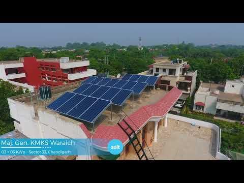 6 KW Rooftop Solar System in Hyderabad, Delhi & Chandigarh