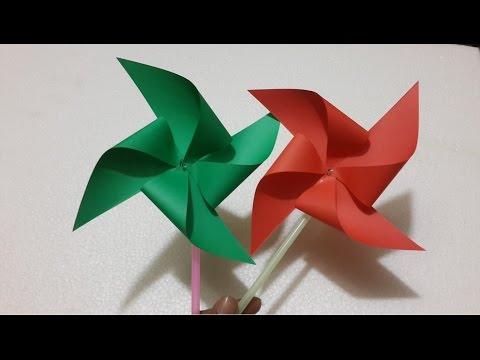 how to make amazing paper windmill - Creative kids life hacks