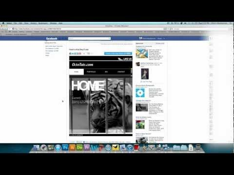 How to Make a Custom Facebook Fan Page