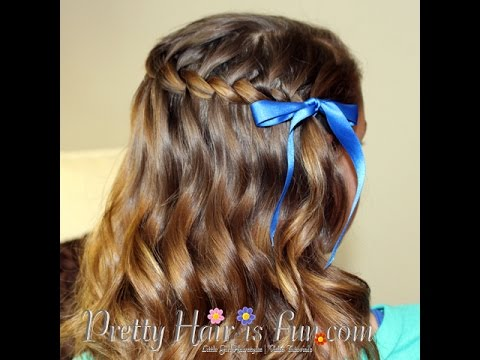 How To: Waterfall Twist Braid | Pretty Hair is Fun