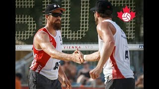 Sam Schachter and Sam Pedlow advance at FIVB World Championship