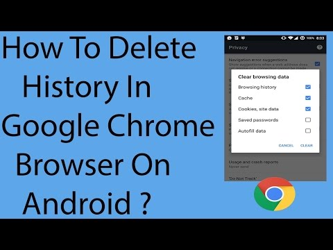 How to Delete the Chrome Browser History on your Android Phone | Hindi video by Always Special
